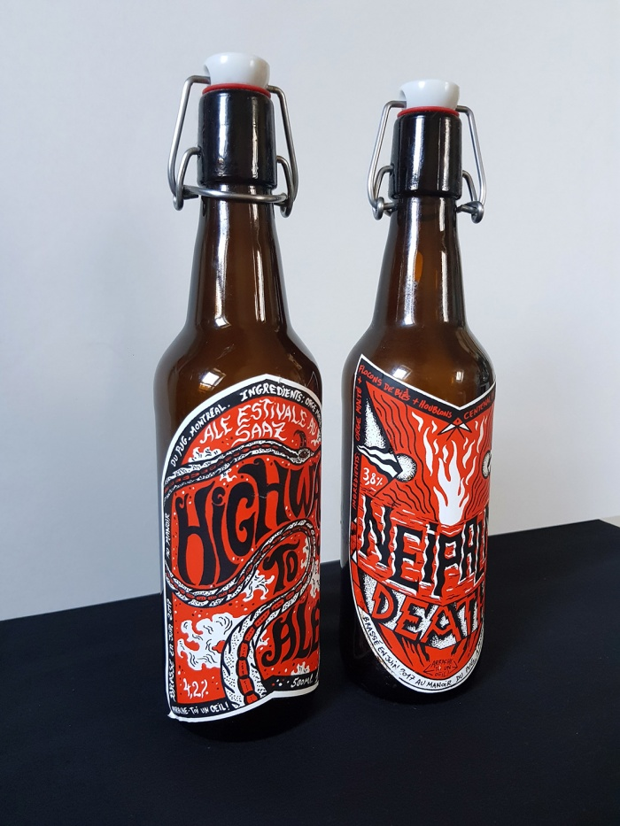HIGHWAY TO ALE & NEIPALM DEATH BEERS