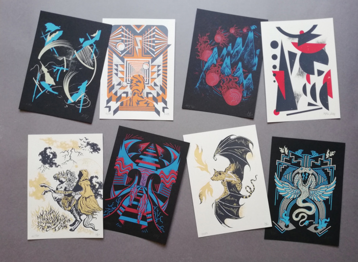 VARIOUS SMALL PRINTS